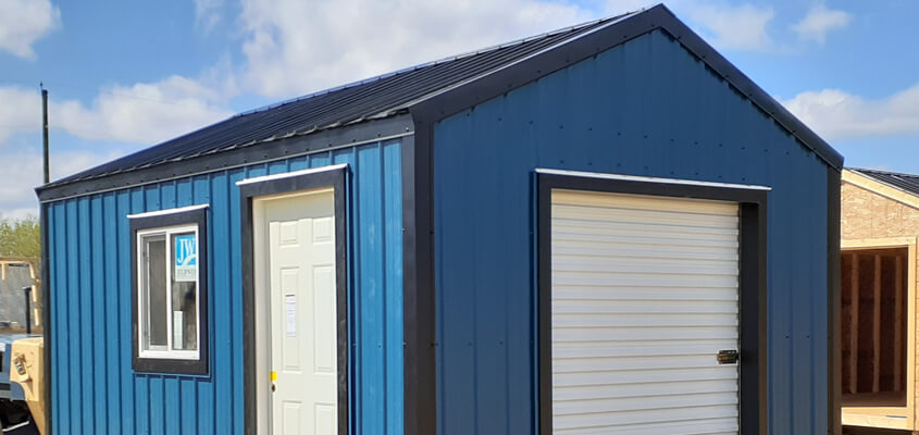 The Benefits Of Metal Sheds