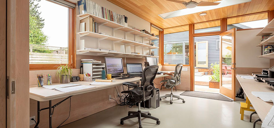 How You Can Turn Your Storage Shed Into An Office