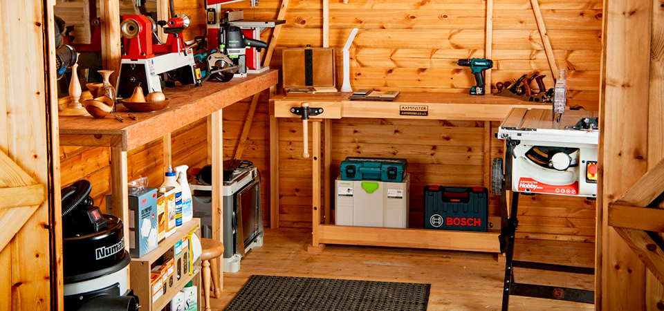 Ways To Turn Your Shed Into A Workshop