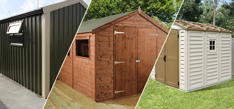 Metal Sheds Vs. Wooden And Plastic Sheds: Which One Is Better?