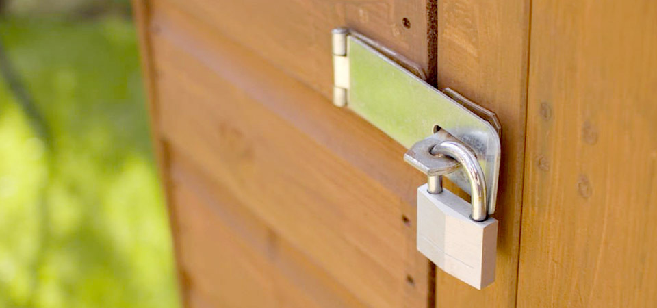 Top 3 Tips For Securing Your Garden Shed