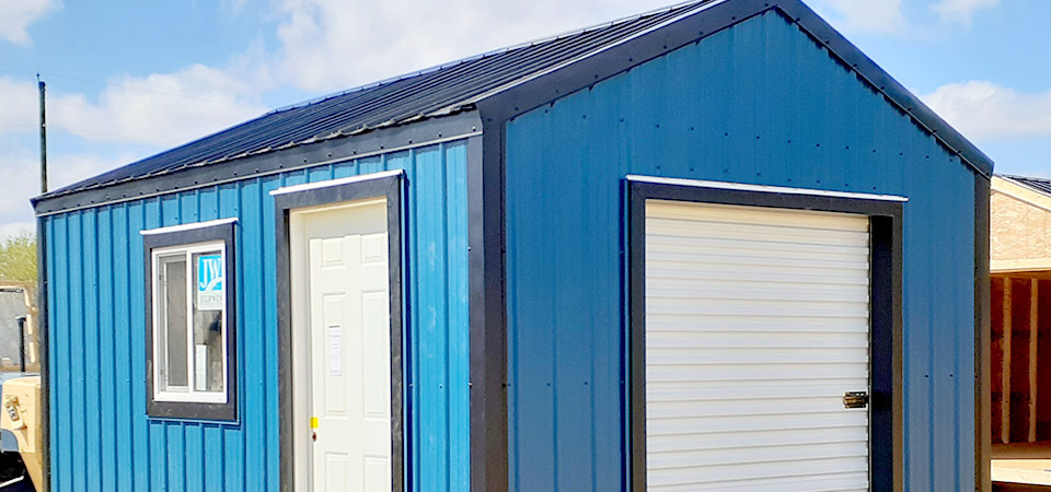 7 Different Types Of Storage Sheds For Your Property
